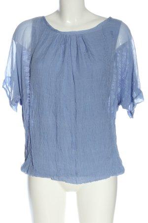 Phase eight Chemisier kimono bleu style d'affaires
