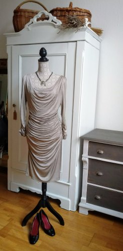 Phase Eight Kleid Gr 14 Drape Dress Gold