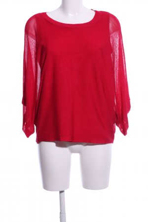 Phase eight Kurzarmpullover rot Casual-Look