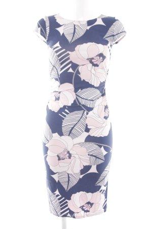 Phase eight Midikleid rosa-hellrosa florales Muster Street-Fashion-Look