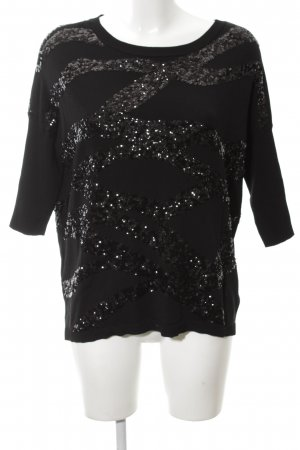 Phase eight Strickshirt schwarz extravaganter Stil