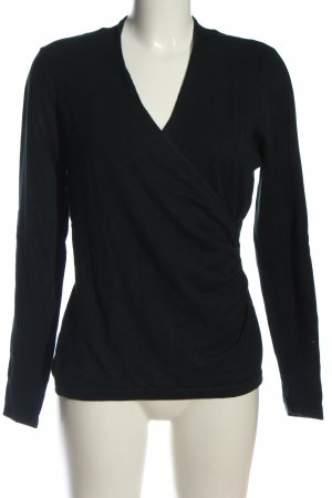 Phase eight V-Ausschnitt-Pullover schwarz Casual-Look