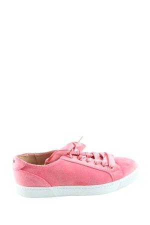 Philip hog Stockholm Schnürsneaker pink-weiß Casual-Look