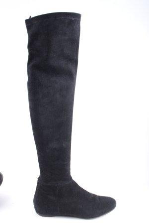 Philipp Hardy Buty nad kolano czarny W stylu casual