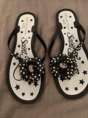Philipp Plein Flip-Flop Sandals black
