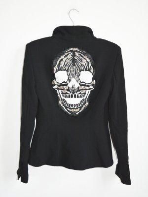 Philipp Plein Couture Blazer selten mit Skull bestickt mit grossen Steinen Gr. S