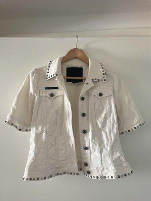 Philipp Plein Denim Jacket natural white