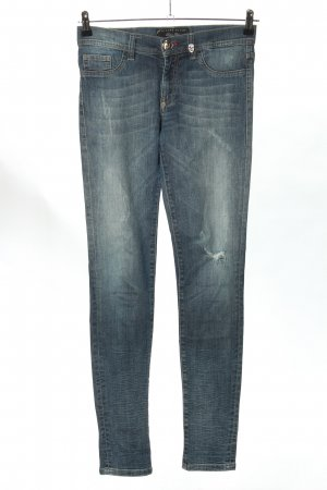 Philipp Plein Jeggings blau Casual-Look