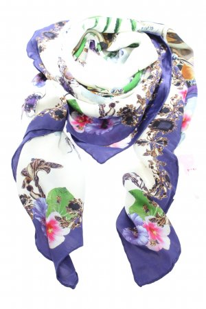 Philipp Plein Shoulder Scarf themed print casual look