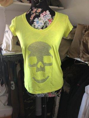 Philipp Plein Shirt Gr. XS neon gelb