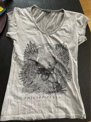 Philipp Plein Basic Shirt grey-light grey