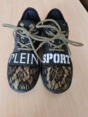 Philipp Plein Sport Sportschuhe Sneaker 100% Original Gr. 35/36 schwarz/beige sehr angenehm zu tragen