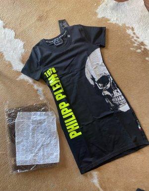 Philipp Plein Totenkopf Kleid mit Strass eng neu Gr L (M-L)