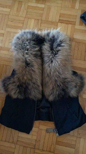 Philipp Plein Smanicato di pelliccia nero