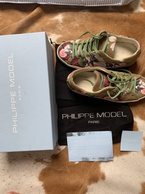 Philippe Model Heel Sneakers beige