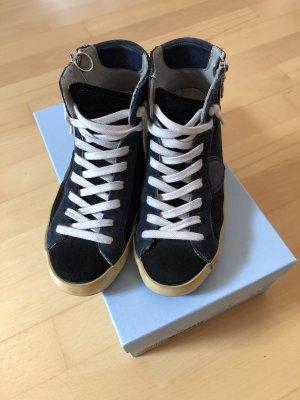 Philippe Model High Top Sneaker Gr 36 blau