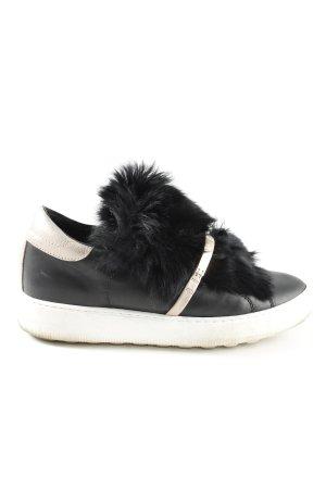 Philippe Model Schlüpfsneaker schwarz-wollweiß Casual-Look