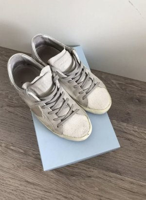 Philippe Model Sneaker Damen 39 grau weiß