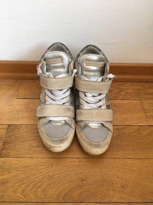 Philippe Model Sneaker Damen Gr 38 beige/Silber