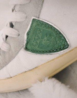 Philippe Model Sneaker grün weiß