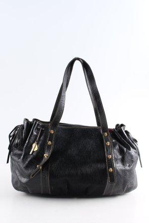 Philippe Roucou Handtasche schwarz Business-Look