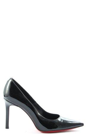 Phillip Hardy Paris High Heels schwarz-rot Casual-Look
