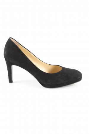 Phillip Hardy Paris Plateau-Pumps schwarz Casual-Look