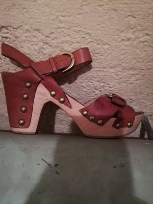Phillip Hardy Paris Clog Sandals brown