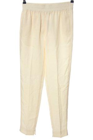 Phillip Lim Pantalone a vita alta crema stile casual
