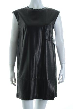 Phillip Lim Lederkleid schwarz Elegant