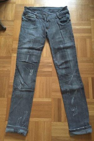 Phillip Plein Jeans in grau - size M