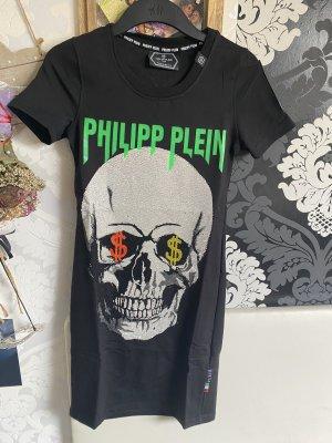 Phillipp Plein Totenkopf Kleid schwarz Gr Xs Neu  mit Etikett