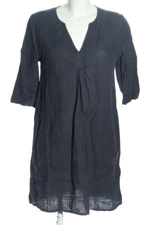 PHILO A-Linien Kleid dunkelblau Casual-Look