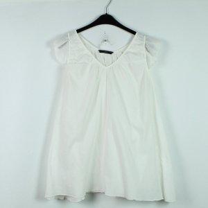 Philosophy Blues Original Short Sleeved Blouse white cotton