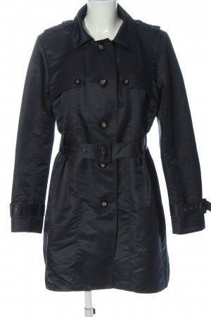 Philosophy Blues Original Trench Coat black casual look