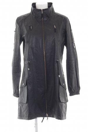 Philosophy Blues Original Manteau de pluie noir style extravagant