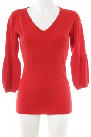 Philosophy Blues Original Knitted Sweater red casual look