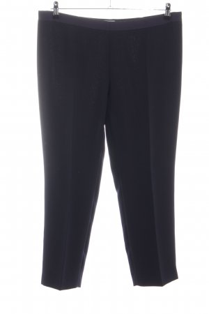 Philosophy Di Alberta Ferretti Bundfaltenhose schwarz-blau Business-Look