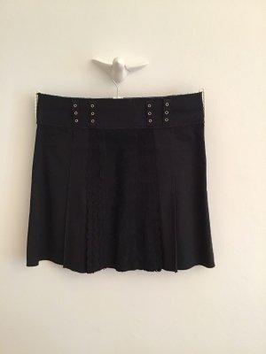 Philosophy Di Alberta Ferretti Plaid Skirt black