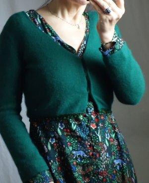 Alberta Ferretti Knitted Bolero dark green-forest green