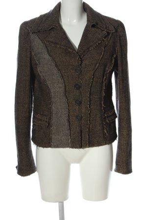 Philosophy Di Alberta Ferretti Short Blazer brown-light grey casual look