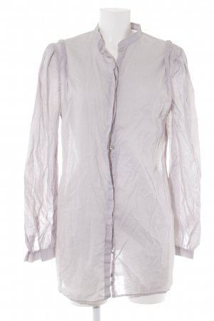 Philosophy Di Alberta Ferretti Long-Bluse hellgrau Casual-Look