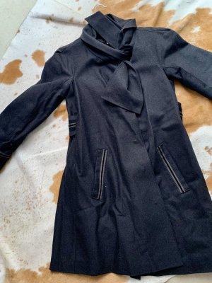 Philosophy Di Alberta Ferretti Wool Coat black-anthracite wool