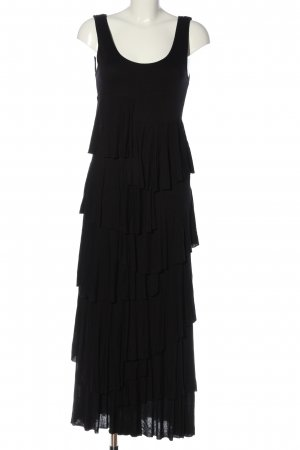 PHILOSOPHY Flounce Dress black casual look
