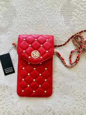Badgley Mischka Mobile Phone Case gold-colored-red