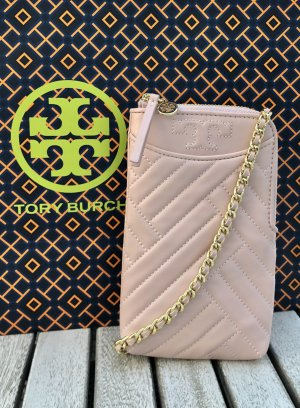 Tory Burch Mobile Phone Case pink-gold-colored