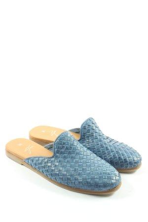 Pia di Fiore Sabots blue casual look