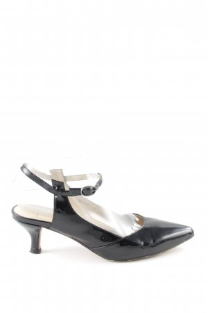 Pia di Fiore Slingback-Pumps schwarz Business-Look