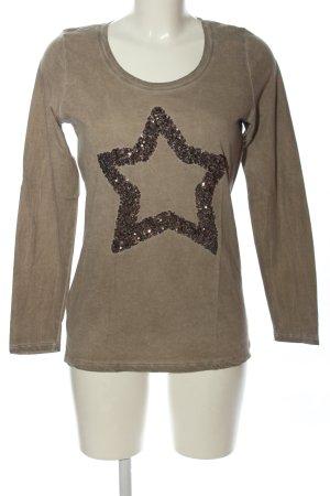Pia Jessen Lang shirt lichtgrijs casual uitstraling