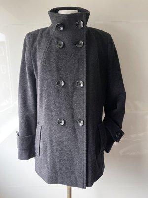 Pia Jessen Marynarski płaszcz antracyt-ciemnoszary